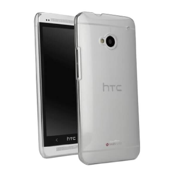 Hard Clear Case for HTC One M7
